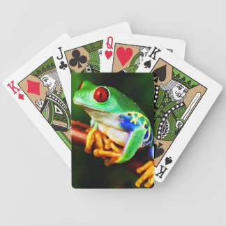 Frog 1 Playing Cards