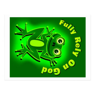 FROG-2 POST CARD