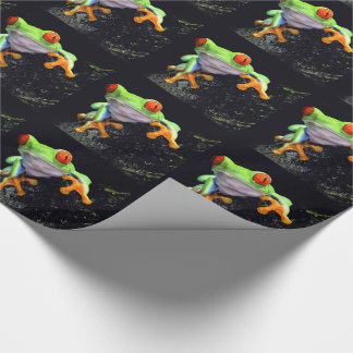 Frog 3 Wrapping Paper