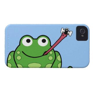 Frog and Fly iPhone 4 Cover