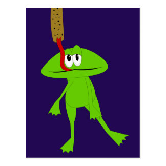 Frog and Flypaper Postcard