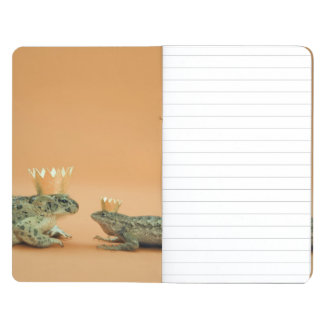 Frog and lizard wearing crowns journal
