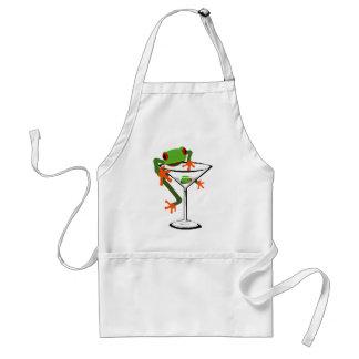 Frog and Martini Standard Apron