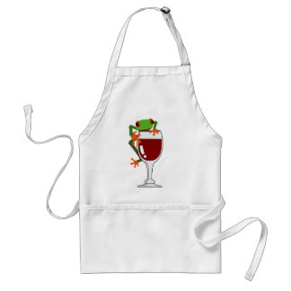Frog and Wine Aprons