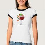 Frog and Wine Tee Shirt