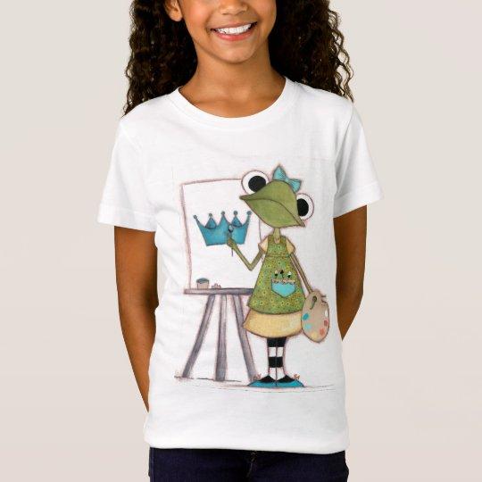 Frog Artist - Childrens T-shirt