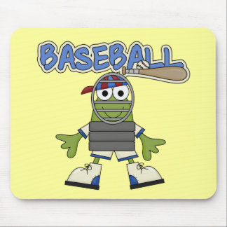 Frog Baseball - Catcher Tshirts and  Gifts Mouse Mat