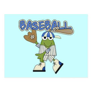 Frog Baseball - Catcher Tshirts and Gifts Postcard