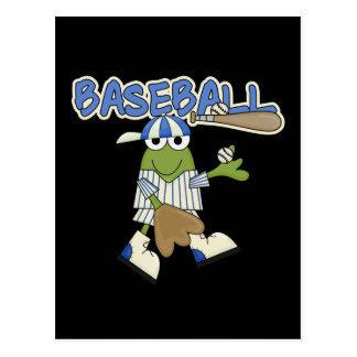 Frog Baseball Pitcher T-shirts and Gifts Postcard