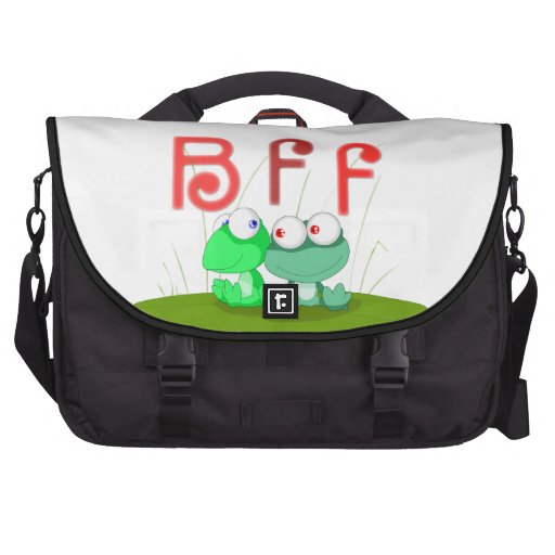 Frog BFF Laptop Bag