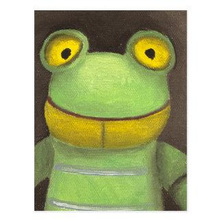 Frog Boy Postcard