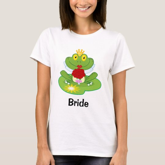 Frog Bride Tee Shirt