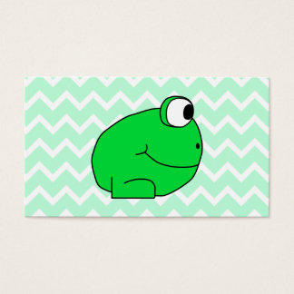 Frog. Business Card