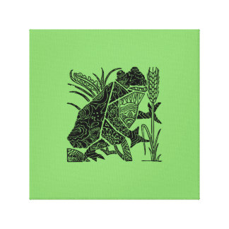 Frog Canvas Print