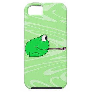Frog Catching a Fly. Case For The iPhone 5
