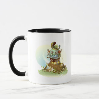 Frog coming out from an UFO Mug