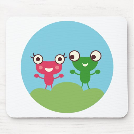 Frog Couple Mouse Pads