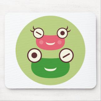 Frog Couple Mousepads