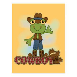 Frog Cowboy T-shirts and Gifts Postcard