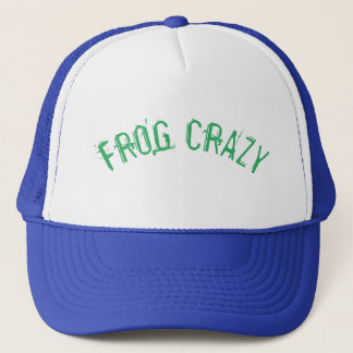Frog Crazy Hat! Trucker Hat