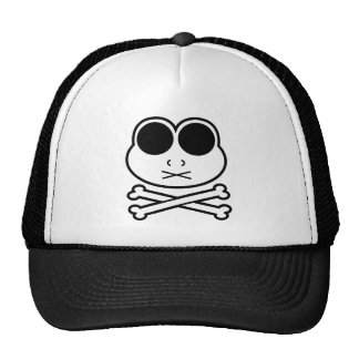 Frog Cross Bone Mesh Hat
