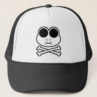 Frog Cross Bone Trucker Hat
