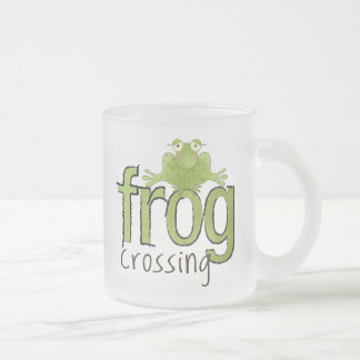 Frog Crossing 2 Mug