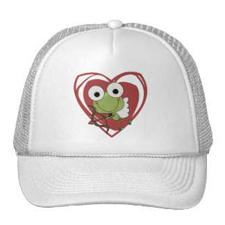 Frog Cupid Valentine T-shirts and Gifts Trucker Hat