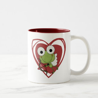 Frog Cupid Valentine T-shirts and Gifts Coffee Mug