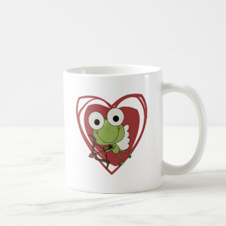 Frog Cupid Valentine T-shirts and Gifts Coffee Mugs