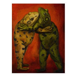 Frog Dancers Postcard