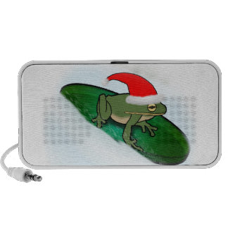 Frog Dashing Through the Snow on a Lily Pad Speaker