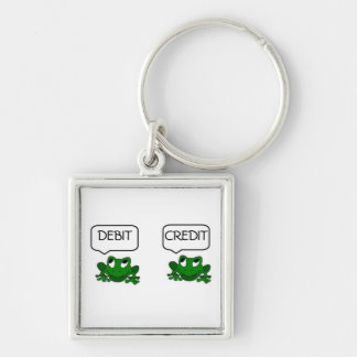 Frog Debit or Credit Keychain