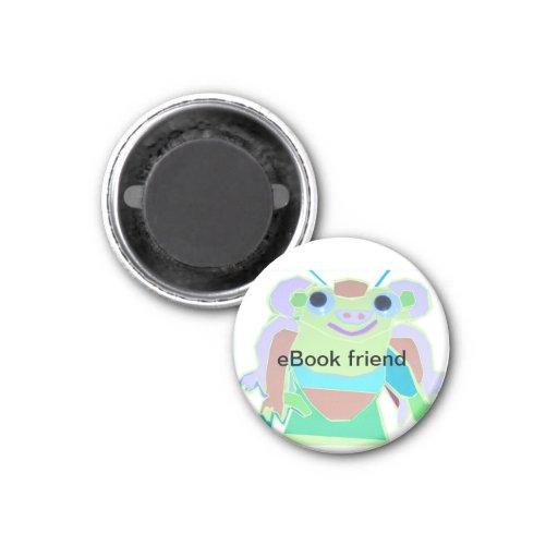 Frog eBook Character Magnet