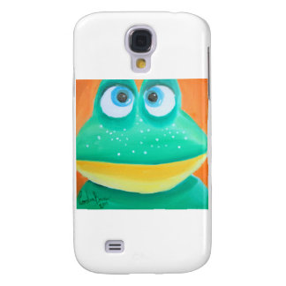 Frog face cute illustration picture galaxy s4 case