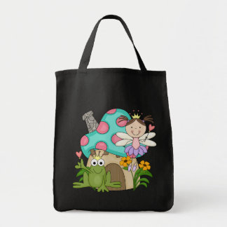 Frog Fairy Toadstool House Tshirts and Gifts Tote Bag