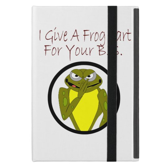 Frog Fart iPad Case