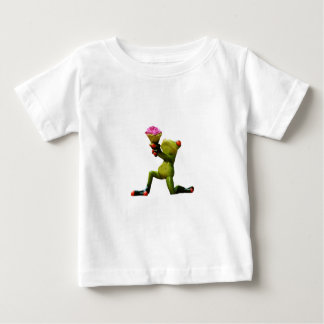 Frog flowers baby T-Shirt