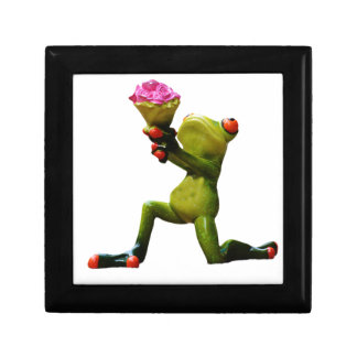 Frog flowers gift box