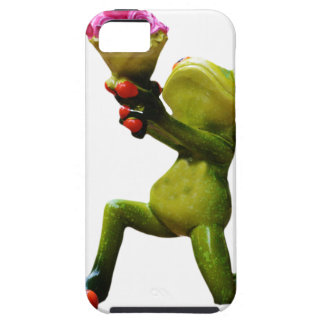 Frog flowers tough iPhone 5 case