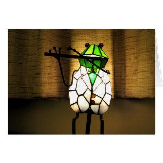 Frog Flute Card