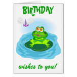 Frog & Fly Cards