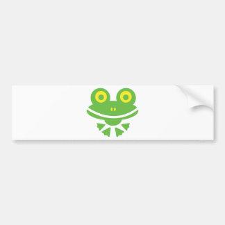 Frog - frog bumper sticker