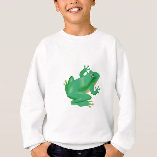 Frog Froggy France Tadpole Sweatshirt