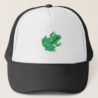 Frog Froggy France Tadpole Trucker Hat