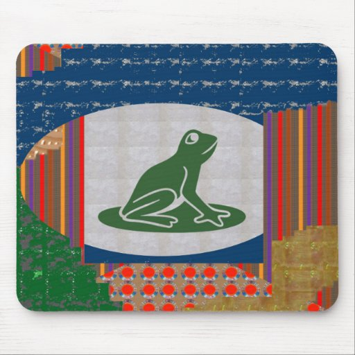 FROG Froggy Pet Animal Cartoon Greetings GIFTS ALL Mouse Pad