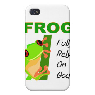 FROG, Fully rely on God Cover For iPhone 4