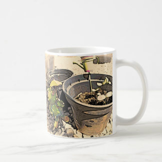 Frog Gardener Mug