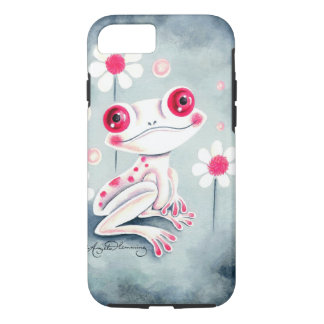 Frog Girly Pink Cute iPhone 7 Case