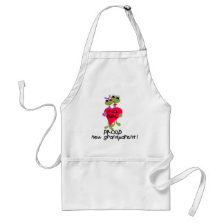 Frog Grandparent of Girl Tshirts and Gifts Standard Apron